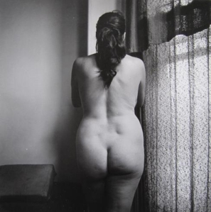 Eleonor Nude Near Window, Chicago, 1949, Harry Callahan
