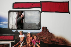 Toasting From RV by Zoe Strauss
