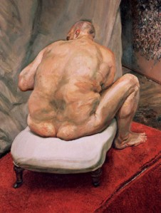 1992-Lucian-freud-Leigh-Bowery-Back-view