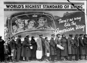 The Louisville Flood by Margaret Bourke-White