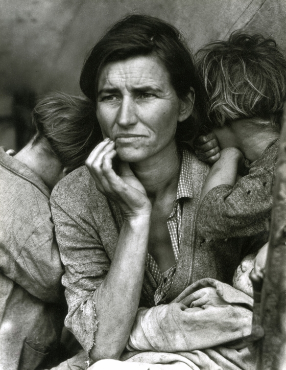 Dorothea Lange Migrant Mother 1936