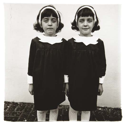 Diane Arbus-Identical Twins, Roselle NJ, 1967