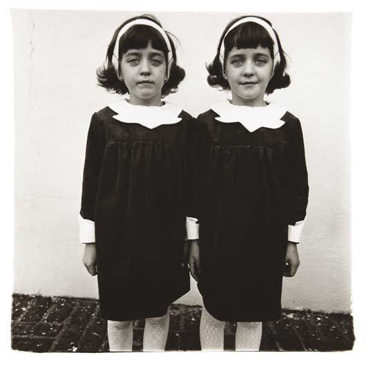 Diane Arbus-Identical Twins, Roselle NJ, 1967