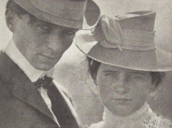 Edward Steichen-Self Portrait with Sister, Milwaukee 1900
