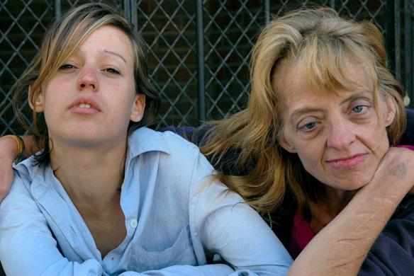 Zoe Strauss-Two-Women-Camden-NJ-2006