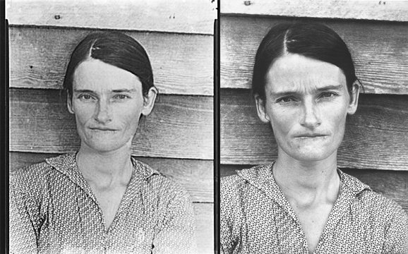 Walker Evans Allie Mae Burroughs, Wife of a Cotton Sharecropper, Hale County, Alabama 1936