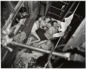 Children on Fire Escape, 1938, Weegee