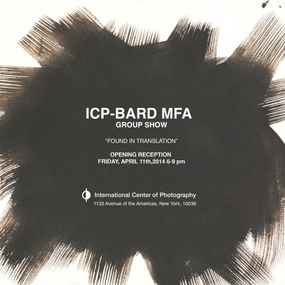 Opening Night of ICP-Bard's MFA Group Show 2014