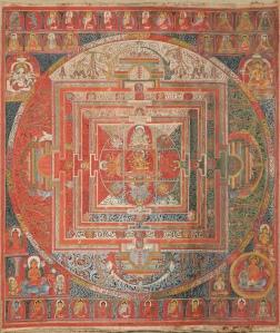 Manjuvajra Mandala 1400s