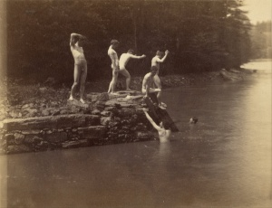 Swimming Hole, Thomas Eakins, 1883