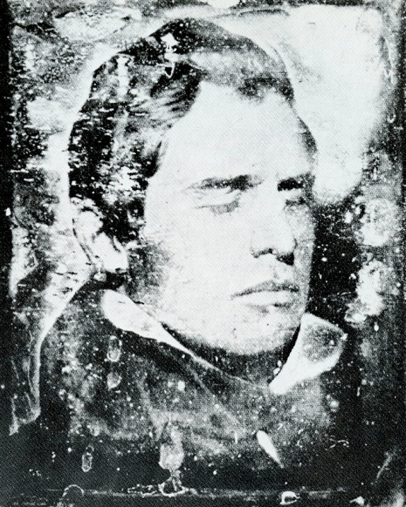 Henry Fitz Jr., (United States, 1801 – 1863). Self-Portrait, 1839. Daguerreotype Credit Line: Current Owner: National Museum of American History, Smithsonian Institution (NMAH) www.si.edu Object number: 109990/4114A
