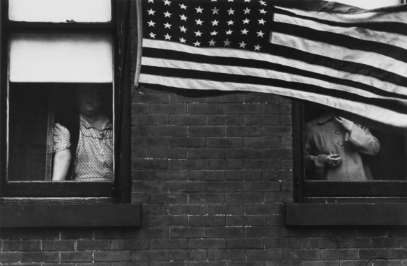 Robert Frank. Parade, Hoboken, New Jersey.1955.