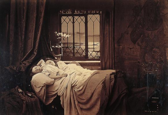 Henry Peach Robinson, Sleep, 1867.
