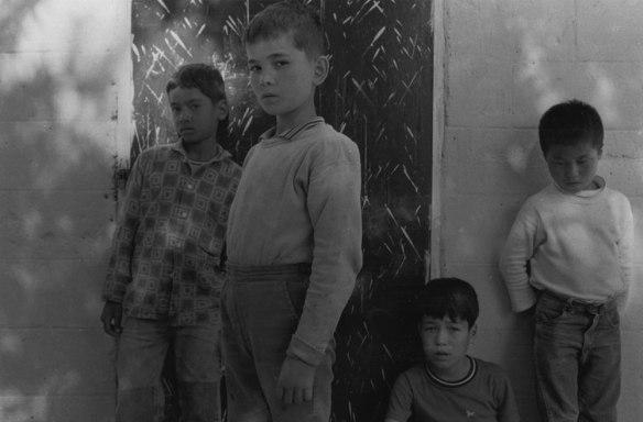 Joo Myung Duck, Holt's Orphanage, 1965. 6 1/2 x 9 7/8 in. Gelatin silver print.