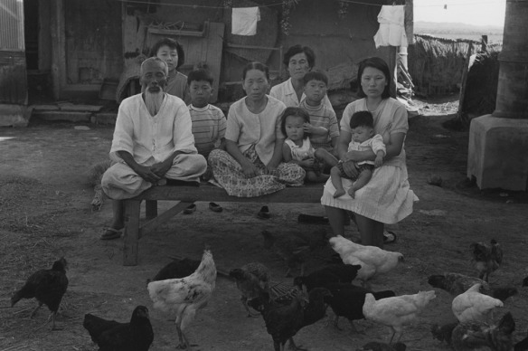 Joo Myung Duck, Ilksan 1971. 6 5/8 x 9 7/8 in. Gelatin silver print.