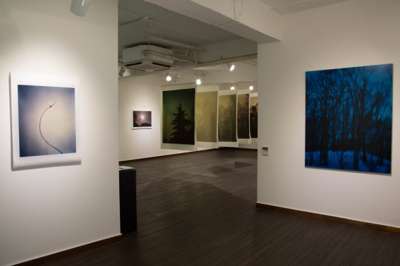 """Nightwalker"" installation view Gallery Now, Seoul, Korea"