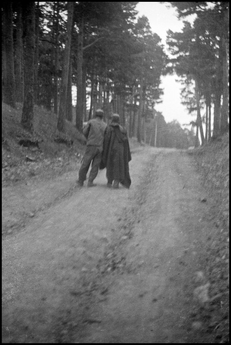 SPAIN. Navacerrada Pass. May-June 1937. Wounded Republican soldiers.