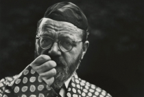 Saul Leiter, Rabbi Wolf Leiter, my father, 1948