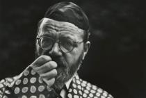 Saul Leiter, Rabbi Wolf Leiter, my father, 1948