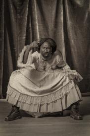 Heather Agyepong, Too Many Blackamoors, 2015